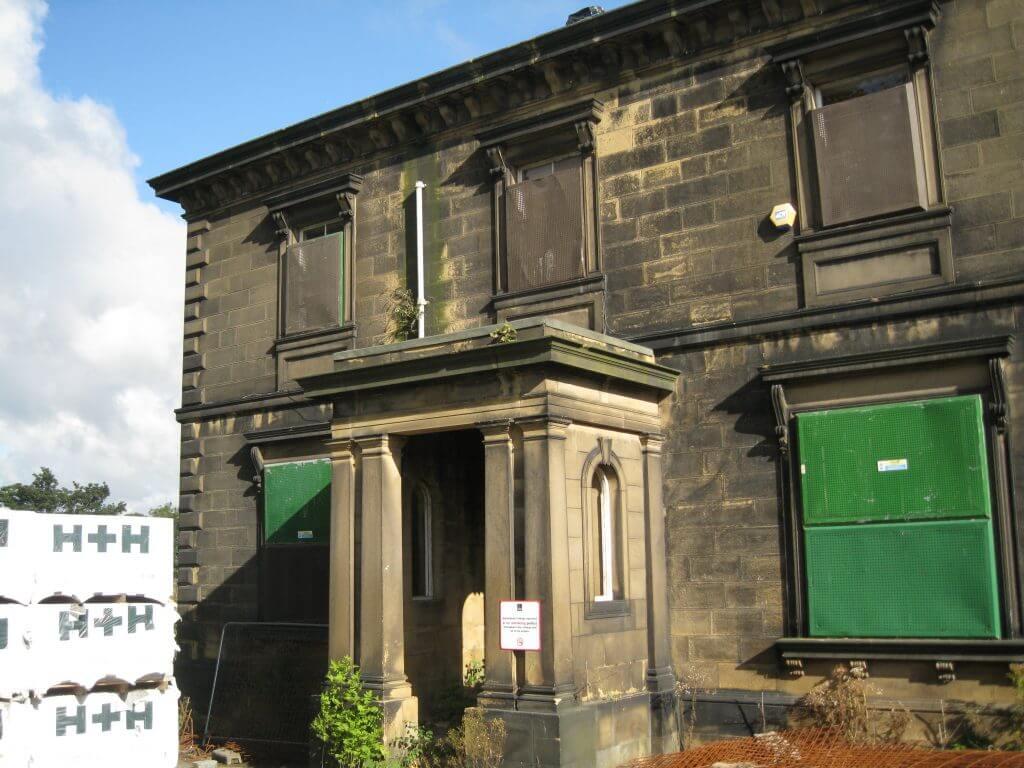 Derelict building Gateshead UK