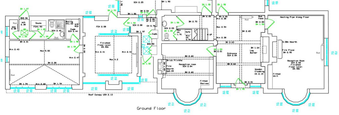 domestic measured building survey